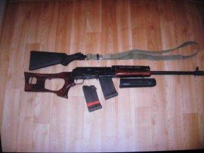 Продам охотничье ружье Сайга