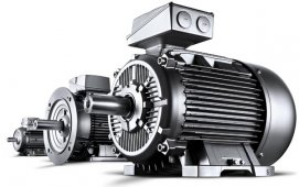 По мощности Электродвигатели