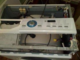 Снятие модуля стиральной