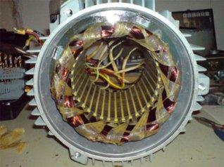 корпус электродвигателя